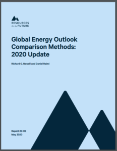 Global Energy Outlook Comparison Methods: 2020 Update
