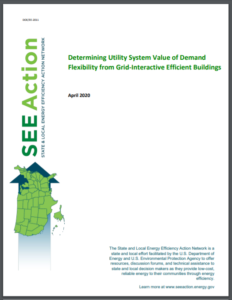 Determining Utility System Value of Demand Flexibility from Grid-Interactive Efficient Buildings