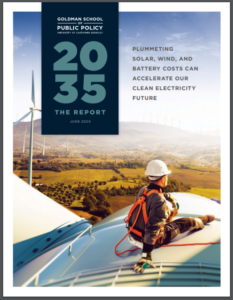 2035 REPORT: Plummeting Solar, Wind, and Battery Costs Can Accelerate our Clean Electricity Future