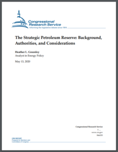 The Strategic Petroleum Reserve: Background, Authorities, and Considerations