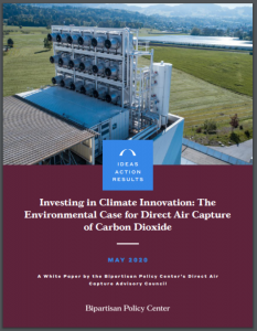 Investing in Climate Innovation: The Environmental Case for Direct Air Capture of Carbon Dioxide