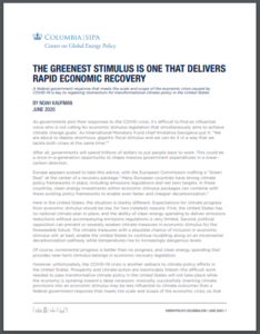 The Greenest Stimulus Is One that Delivers Rapid Economic Recovery