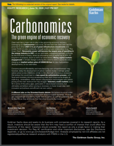 Carbonomics: The green engine of economic recovery
