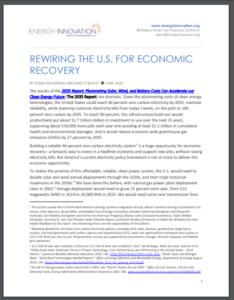 Rewiring The U.S. For Economic Recovery