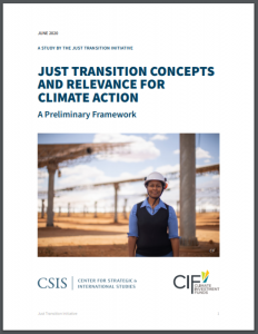 Just Transition Concepts and Relevance for Climate Action