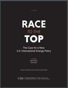 Race to the Top: The Case for a New U.S. International Energy Policy