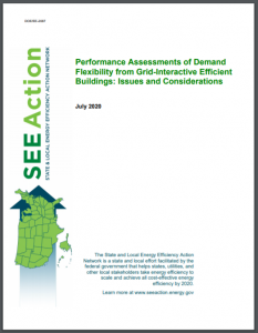 Performance Assessments of Demand Flexibility from Grid-Interactive Efficient Buildings: Issues and Considerations