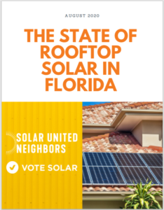 The State of Rooftop Solar in Florida