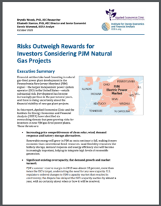 Risks Outweigh Rewards for Investors Considering PJM Natural Gas Projects