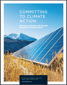 Colorado 2030: Committing to Equitable Climate Action