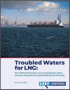 Troubled Waters for LNG: The COVID-19 Recession and Overproduction Derail Dramatic Expansion of Liquefied Natural Gas Terminals