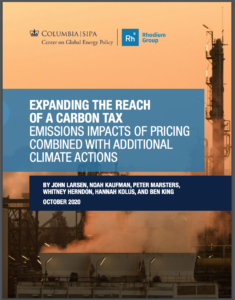 Expanding the Reach of a Carbon Tax: Emissions Impacts of Pricing Combined with Additional Climate Actions