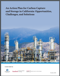 An Action Plan for Carbon Capture and Storage in California: Opportunities, Challenges, and Solutions