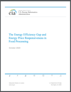 The Energy Efficiency Gap and Energy Price Responsiveness in Food Processing