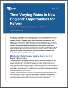 Time-Varying Rates in New England: Opportunities for Reform
