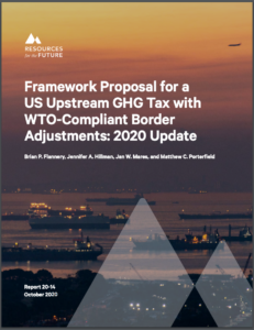 Framework Proposal for a US Upstream GHG Tax with WTO-Compliant Border Adjustments: 2020 Update