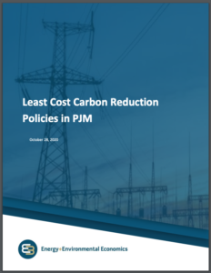 Least Cost Carbon Reduction Policies in PJM