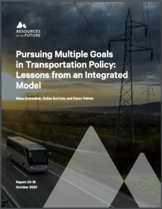 Pursuing Multiple Goals in Transportation Policy: Lessons from an Integrated Model