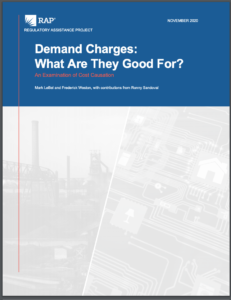 Demand Charges: What Are They Good For?