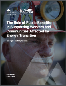 The Role of Public Benefits in Supporting Workers and Communities Affected by Energy Transition