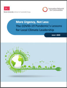 More Urgency, Not Less: The COVID-19 Pandemic's Lessons for Local Climate Leadership
