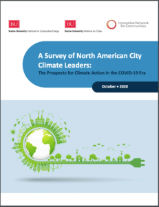 A Survey of North American City Climate Leaders: The Prospects for Climate Action in the COVID-19 Era