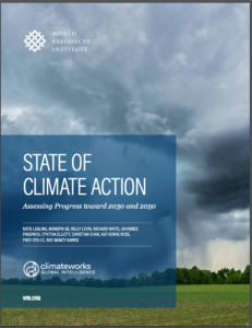 State of Climate Action: Assessing Progress toward 2030 and 2050