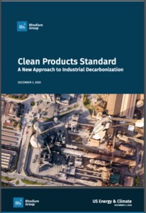 Clean Products Standard: A New Approach to Industrial Decarbonization