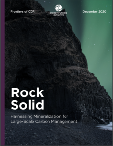 Rock Solid: Harnessing Mineralization for Large-Scale Carbon Management