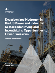 Decarbonizing Hydrogen in the US Power and Industrial Sectors: Identifying and Incentivizing Opportunities to Lower Emissions