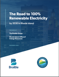 The Road to 100% Renewable Electricity by 2030 in Rhode Island