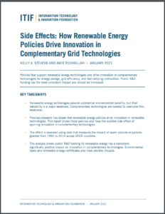 Side Effects: How Renewable Energy Policies Drive Innovation in Complementary Grid Technologies