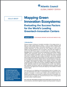 Mapping Green Innovation Ecosystems: Evaluating the Success Factors for the World's Leading Greentech-Innovation Centers