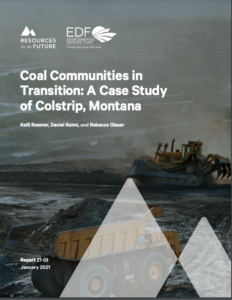 Coal Communities in Transition: A Case Study of Colstrip, Montana