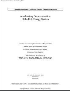 Accelerating Decarbonization of the U.S. Energy System