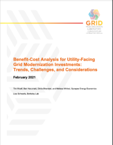 Benefit-Cost Analysis for Utility-Facing Grid Modernization Investments: Trends, Challenges, and Considerations