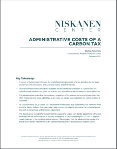 Administrative Costs of a Carbon Tax
