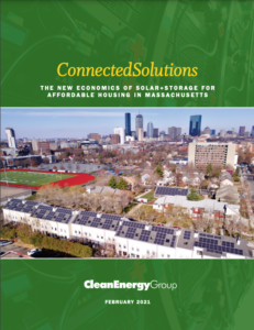 ConnectedSolutions: The New Economics of Solar+Storage for Affordable Housing in Massachusetts