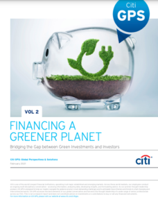 Financing a Greener Planet Volume II: Bridging the Gap between Green Investment and Investors