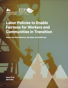 Labor Policies to Enable Fairness for Workers and Communities in Transition