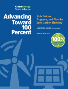 Advancing Toward 100 Percent: State Policies, Programs, and Plans for Zero-Carbon Electricity