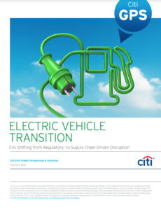 Electric Vehicle Transition: EVs Shifting from Regulatory- to Supply Chain-Driven Disruption