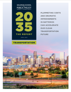 2035 2.0 Report: Plummeting Costs & Dramatic Improvements in Batteries can Accelerate our Clean Transportation Future