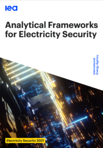Analytical Frameworks for Electricity Security