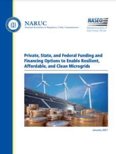 Private, State, and Federal Funding and Financing Options to Enable Resilient, Affordable, and Clean Microgrids