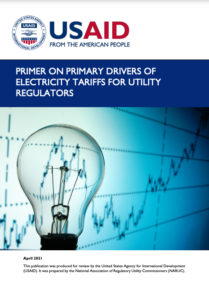 Primer on Primary Drivers of Electricity Tariffs for Utility Regulators
