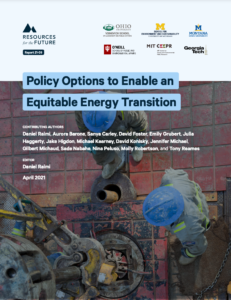 Policy Options to Enable an Equitable Energy Transition