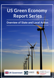 US Green Economy Report Series: Overview of State and Local Action