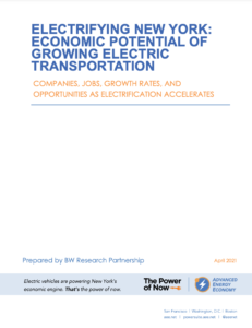Electrifying New York: Economic Potential of Growing Electric Transportation
