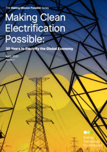 Making Clean Electrification Possible: 30 Years to Electrify the Global Economy